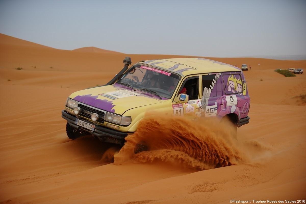 Rallye rose des sables